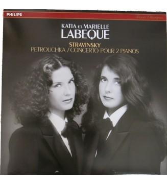 Igor Stravinsky - Katia Et Marielle Labèque - Petrouchka / Concerto Pour 2 Pianos (LP, Album) mesvinyles.fr