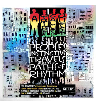 A Tribe Called Quest - People's Instinctive Travels And The Paths Of Rhythm (2xLP, Album, RE, RM, 180) mesvinyles.fr