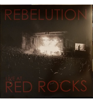 Rebelution (3) - Live At Red Rocks (2xLP, Bla) mesvinyles.fr