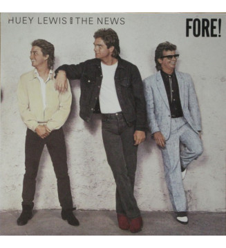 Huey Lewis And The News* - Fore! (LP, Album) mesvinyles.fr