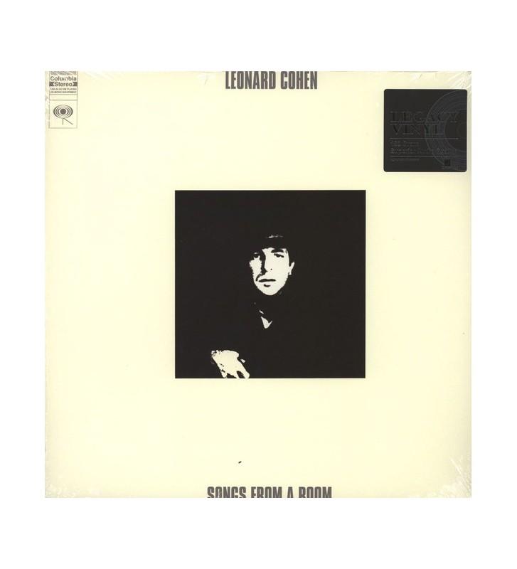 Leonard Cohen - Songs From A Room (LP, Album, RE, 180) mesvinyles.fr