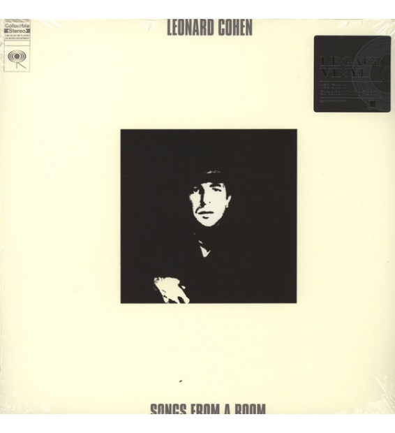 Leonard Cohen - Songs From A Room (LP, Album, RE, 180) mesvinyles.fr