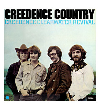 Creedence Clearwater Revival - Creedence Country (LP, Comp) mesvinyles.fr