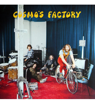 Creedence Clearwater Revival - Cosmo's Factory (LP, Album, RE) mesvinyles.fr