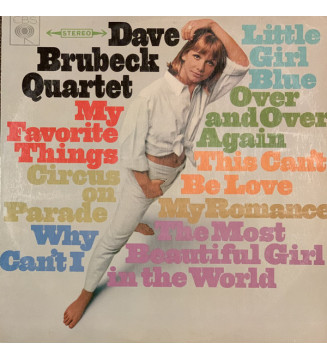 Dave Brubeck Quartet* - My Favorite Things (LP, Album) mesvinyles.fr
