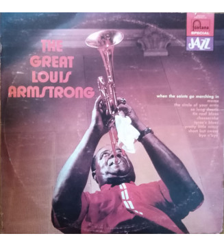 Louis Armstrong - The Great Louis Armstrong (LP, Comp) mesvinyles.fr