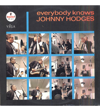 Johnny Hodges - Everybody Knows (LP, Album, Mono) mesvinyles.fr