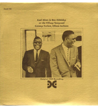 Earl Hines & Roy Eldridge - At The Village Vanguard (LP, Album) mesvinyles.fr