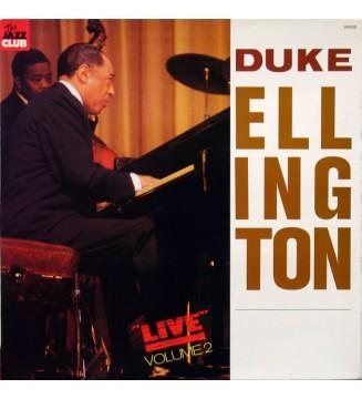 "Duke Ellington - ""Live"" Volume 2 (LP, Album, Gat) mesvinyles.fr"