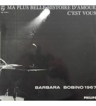 Barbara (5) - Ma Plus Belle Histoire D'amour C'est Vous - Bobino 1967 (LP, Album, Mono) mesvinyles.fr