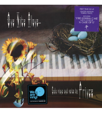 Prince - One Nite Alone... Solo Piano And Voice By Prince (LP, Album, Ltd, RE, Pur) mesvinyles.fr