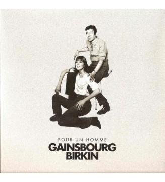 """Gainsbourg*, Birkin* - Pour Un Homme (7"""", S/Sided, Promo, RE) mesvinyles.fr"""