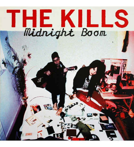 The Kills - Midnight Boom (LP, Album, RE, 180) mesvinyles.fr