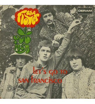 "The Flower Pot Men* - Let's Go To San Francisco (7"", Single, RP) mesvinyles.fr"