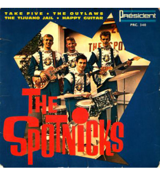 "The Spotnicks - Vol. 5 (7"", EP) mesvinyles.fr"