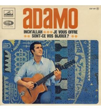 """Adamo - Inch' Allah (7"""", EP) mesvinyles.fr"""