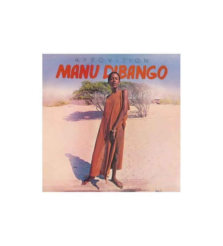 Manu Dibango - Afrovision (LP, Ltd, RM, RP, red) mesvinyles.fr