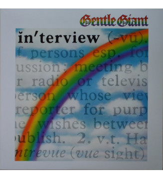 Gentle Giant - Interview (LP, Album, RE, RM) mesvinyles.fr