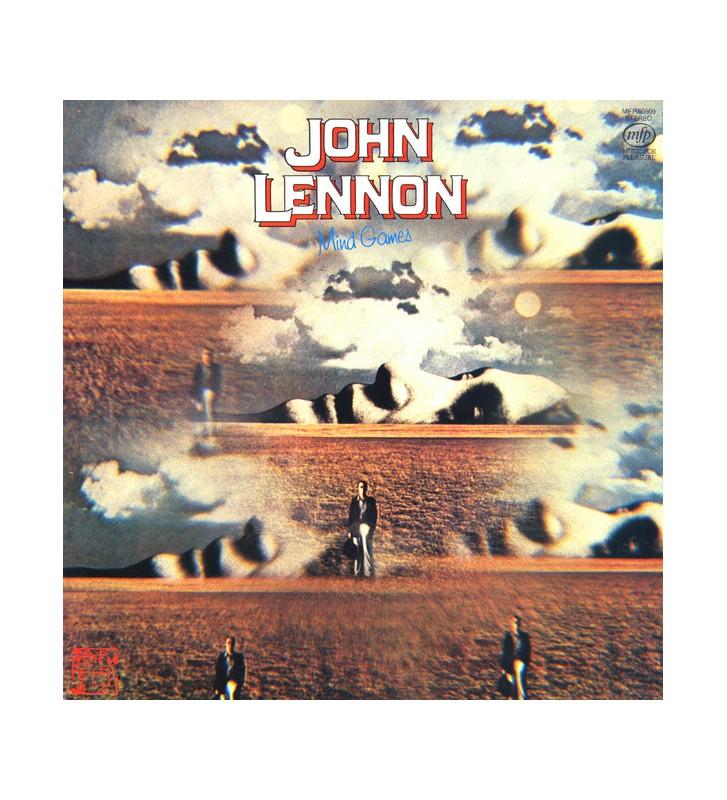 John Lennon - Mind Games (LP, Album, RE) mesvinyles.fr
