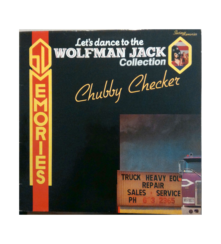 Chubby Checker - Let's Dance To The Wolfman Jack Collection - Chubby Checker (LP, Comp) mesvinyles.fr