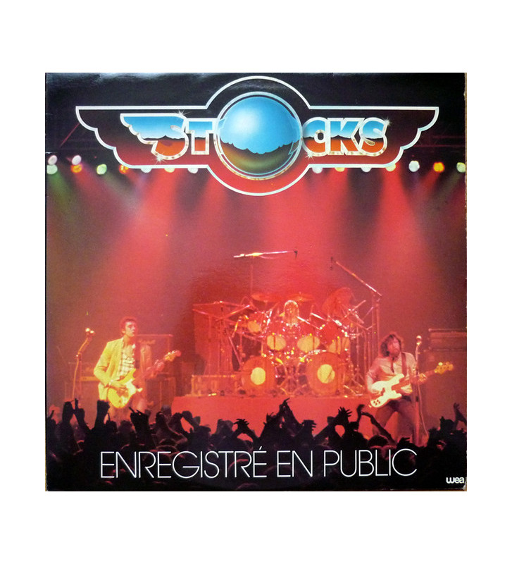Stocks (2) - Enregistré En Public (LP, Album) mesvinyles.fr