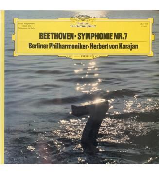 Beethoven* • Herbert von Karajan • Berliner Philharmoniker - Symphonie Nr. 7 (LP, Album, Gat) mesvinyles.fr