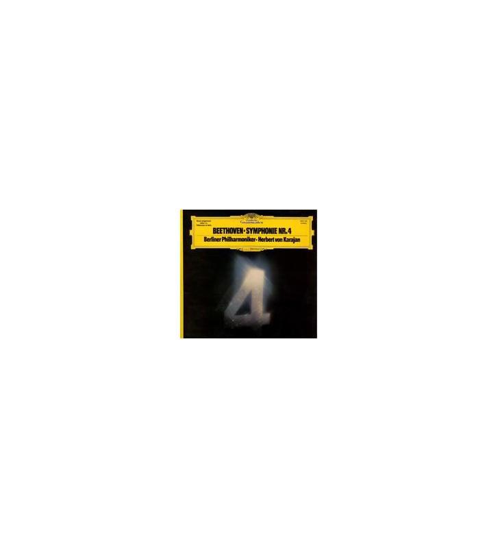 Beethoven*, Herbert von Karajan & Berliner Philharmoniker - Symphonie Nr. 4 (LP, Gat) mesvinyles.fr