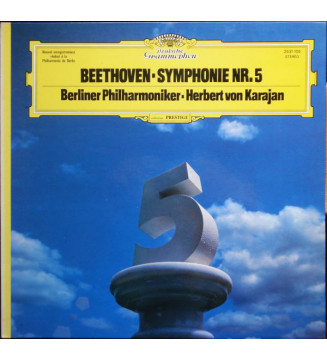 Beethoven*, Berliner Philharmoniker · Herbert von Karajan - Symphonie Nr. 5 (LP, Gat) mesvinyles.fr