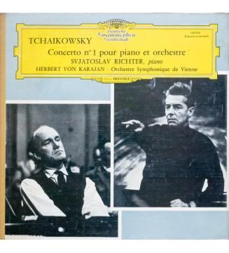 Tchaikowsky*, Svjatoslav Richter*, Herbert Von Karajan • Orchestre Symphonique De Vienne* - Concerto N°1 Pour Piano Et Orchestr