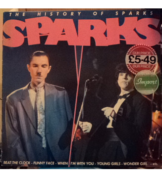 Sparks - The History Of Sparks (LP, Comp) mesvinyles.fr