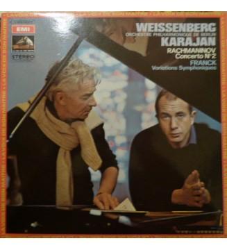 Rachmaninov* ' Franck* - Weissenberg* / Karajan* / Orchestre Philharmonique De Berlin* - Concerto N°2 / Variations Symphoniques