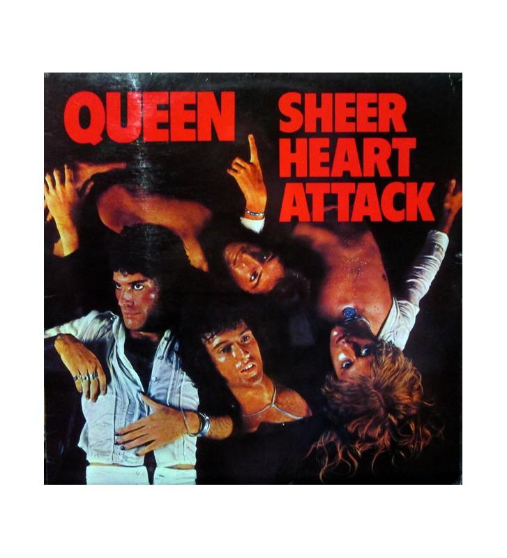 Queen - Sheer Heart Attack (LP, Album, RE) mesvinyles.fr