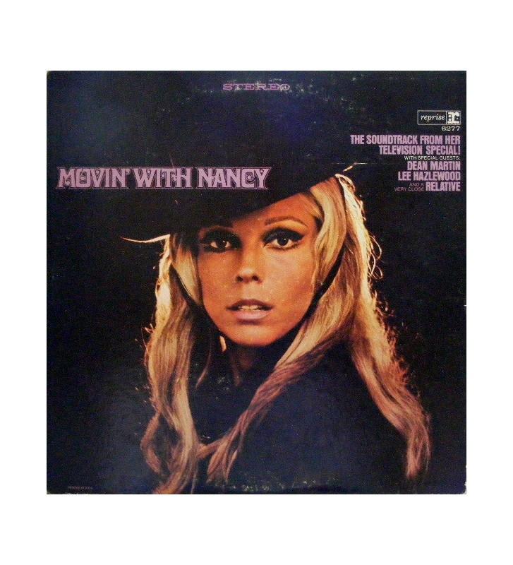 Nancy Sinatra - Movin' With Nancy (LP, Album) mesvinyles.fr