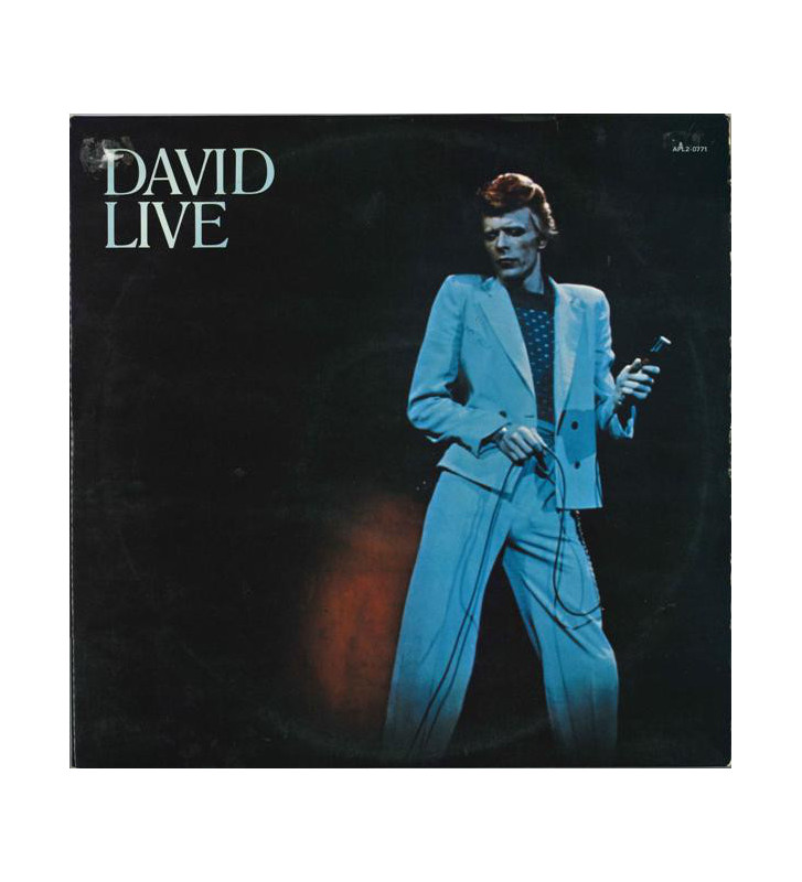 David Bowie - David Live (2xLP, Album, Gat) mesvinyles.fr