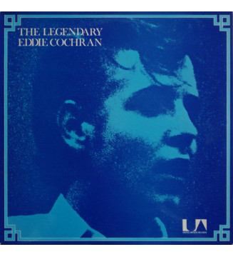 Eddie Cochran - The Legendary (LP, Comp) mesvinyles.fr
