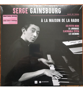 """Serge Gainsbourg - À La Maison De La Radio (12"""", Maxi, Ltd, Pin) new mesvinyles.fr"""