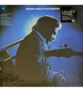 Johnny Cash - Johnny Cash At San Quentin (LP, Album, RE, 180)