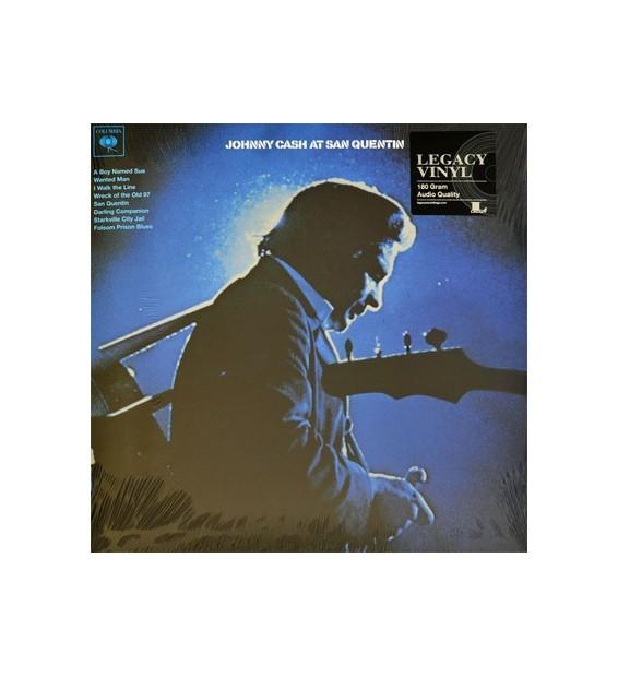 Johnny Cash - Johnny Cash At San Quentin (LP, Album, RE, 180) mesvinyles.fr