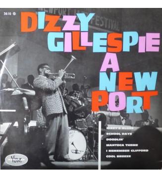 Dizzy Gillespie - Dizzy Gillespie À New Port (LP, Album) mesvinyles.fr