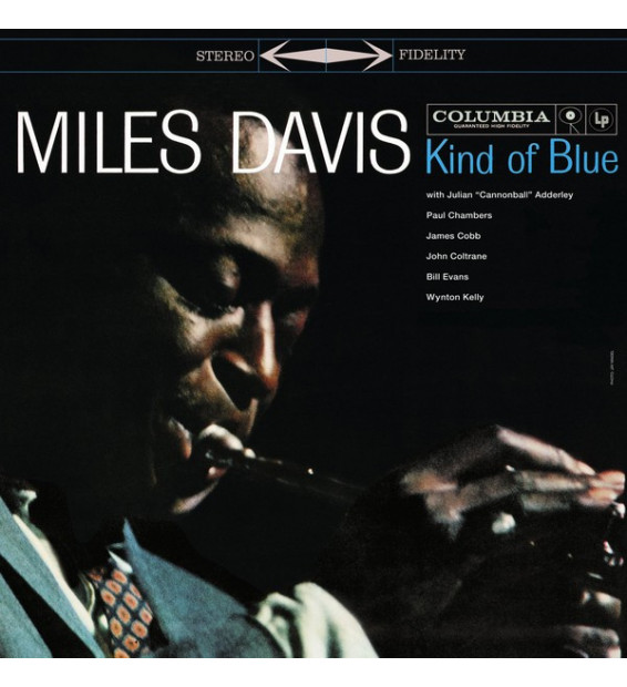 Miles Davis - Kind Of Blue (LP, Album, RE, 180)