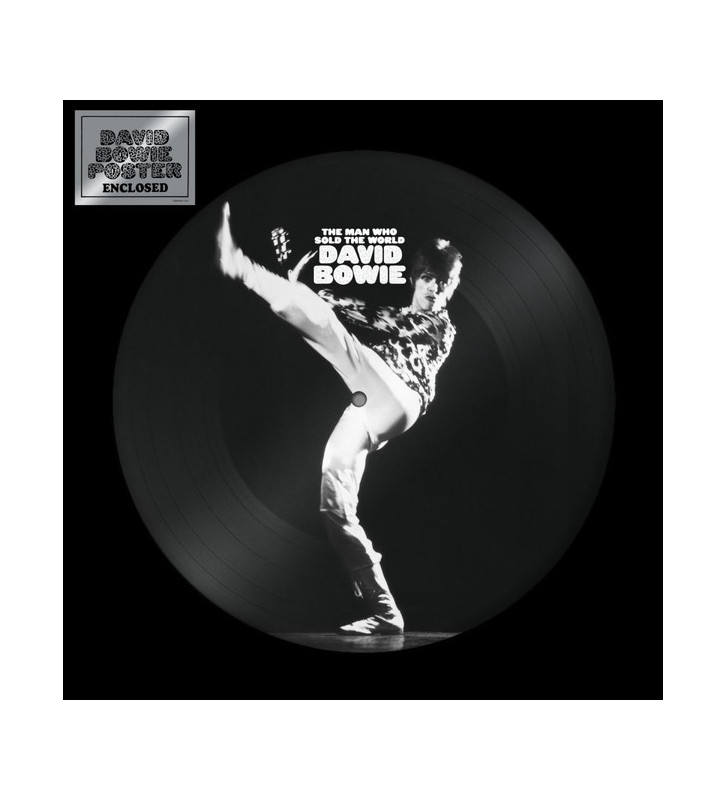 David Bowie - The Man Who Sold The World (LP, Album, Pic, RE) new mesvinyles.fr