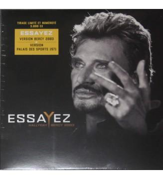 """Hallyday* - Essayez (Bercy 2003) (10"""", Ltd, Num) mesvinyles.fr"""