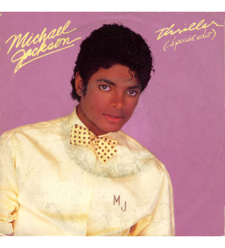 "Michael Jackson - Thriller (Special Edit) (7"", Single) mesvinyles.fr"