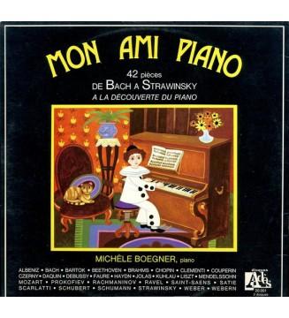 Michèle Boegner - Mon Ami Piano - 42 Pièces De Bach À Strawinsky, A la Découverte Du Piano (3xLP) mesvinyles.fr