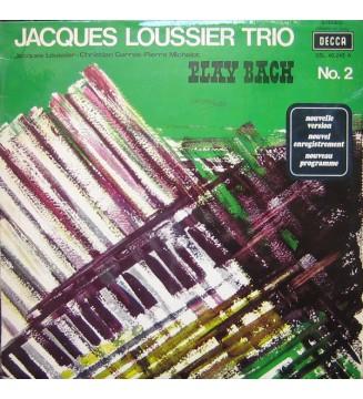 Jacques Loussier Trio - Play Bach No. 2 (LP, Album) mesvinyles.fr