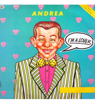 "Andrea (4) - I'm A Lover (12"", Maxi) mesvinyles.fr"