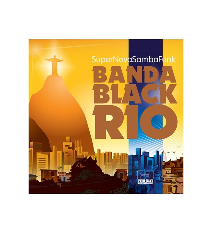 BANDA BLACK RIO - SUPER NOVA SAMBA FUNK VINYL LP (COLOUR VINYL) RSD 2021 mesvinyles.fr