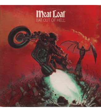 Meat Loaf - Bat Out Of Hell (LP, Album) mesvinyles.fr