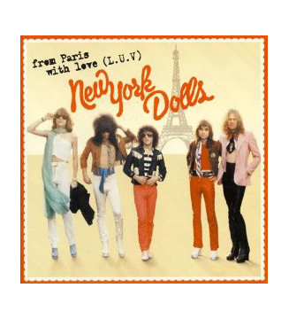 New York Dolls - From Paris With Love (L.U.V.) (2xLP, Album, Ltd, RE) mesvinyles.fr