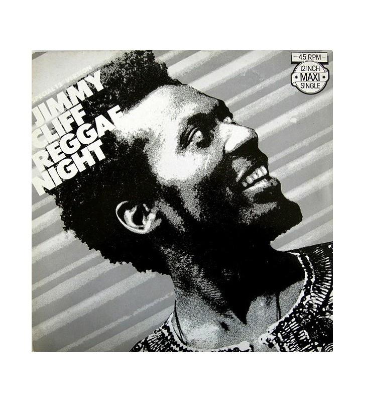 "Jimmy Cliff - Reggae Night (12"", Maxi) mesvinyles.fr"